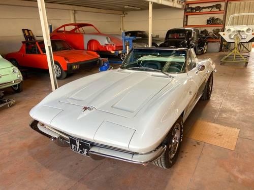 Vends Chevrolet Corvette C2Stingray Cabriolet 1964- Parfait État