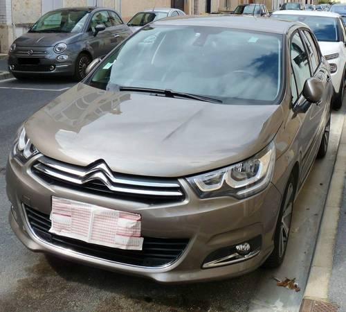 Vends Citroën C4pure tech 130cv shine SetS eat6- 2018, 22160km