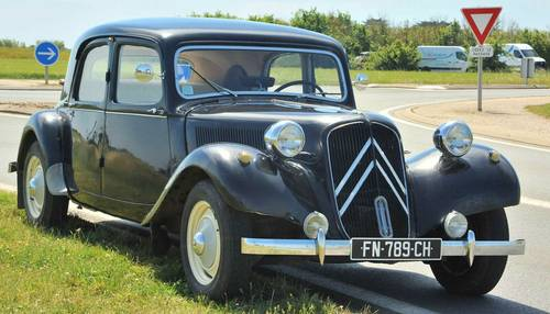 Vends Citroën Traction collection - 1953