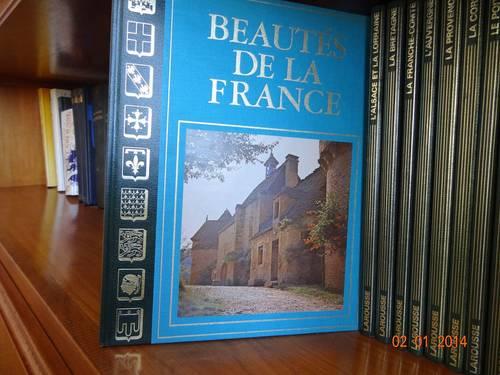 Vends collection complète sur les régions de France