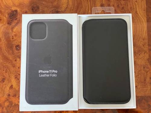 Vends coque folio Apple IPhone 11 Pro