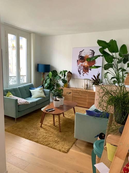 Vends Duplex dernier étage - 74m² au sol - Paris 11èmeSedaine