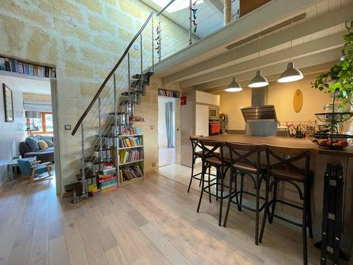 Vends Duplex -138m²-Vue exceptionnelle -Terrasse -Cave - 2chambres, Bordeaux