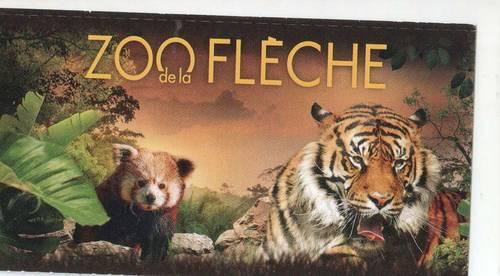 Vends ou échange billets zoo La Flèche