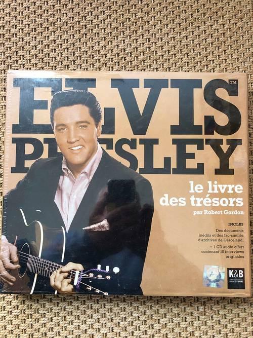 Vends ELVIS PRESLEY, le livre des trésors. Neuf