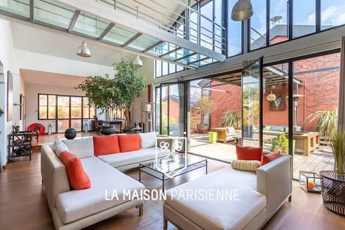 Vends loft exceptionnel 6chambres, 500m² + 220m² de terrasses - Bagnolet (93)