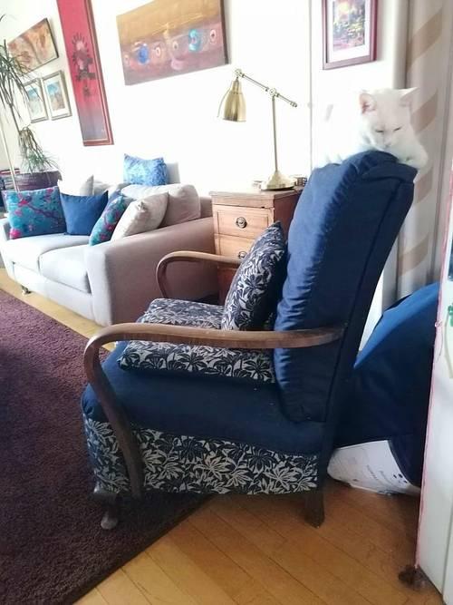 Vends fauteuil Vintage années 30