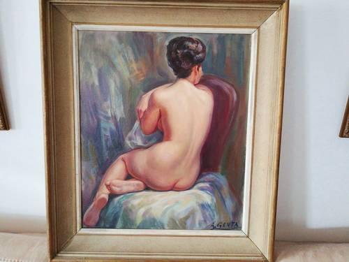Vends nu féminin d'Albert Genta