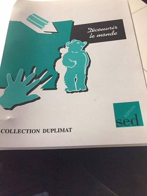 """Vends fichier """"découvrir le monde"""" Edts SED, très bon état"""