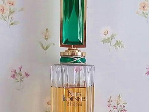 Magnifique flacon de parfum, factice géant NUITS INDIENNES