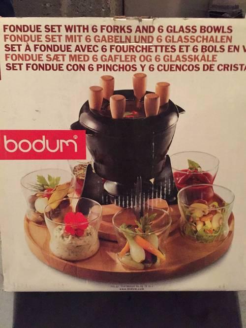 Vends set à fondue 6personnes Bodum