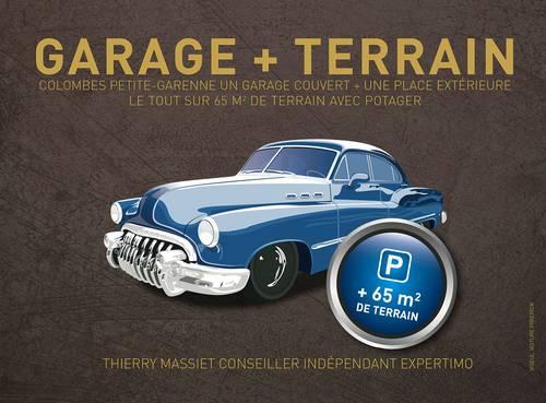 Vends Garage sur 65m² de terrain privatif - Colombes Petite Garenne