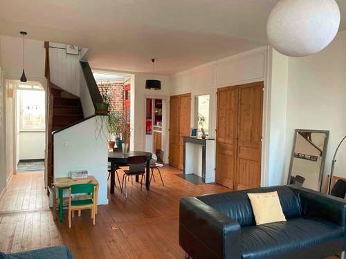 Vends grand appartement lumineux, 126m², quartier Wazemmes - 3chambres, Lille (59)