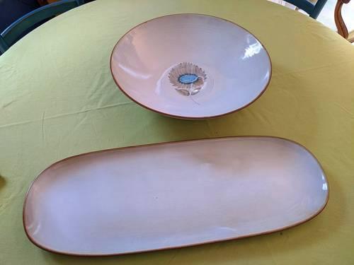 Vends très grand plat creux