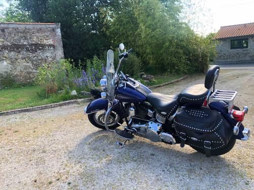 Vends moto Harley Davidson modèle Heritage - 33600km, 2007