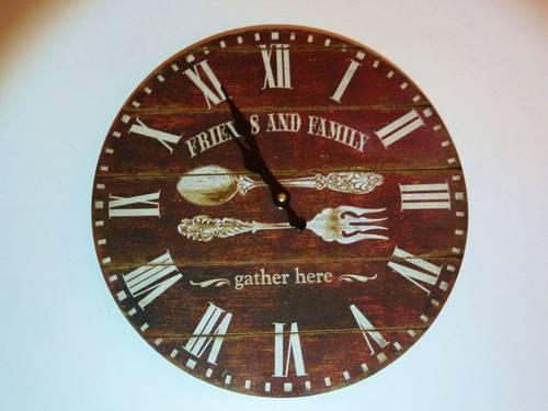 Vends horloge diamètre 34cm