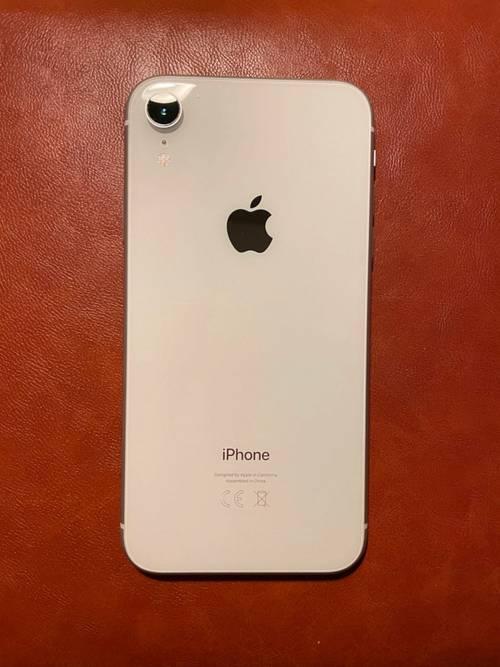Vends iPhone XR Blanc 128GO TBE + facture