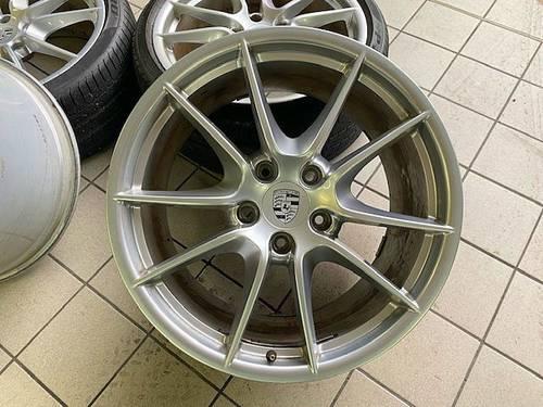 """Vends 4jantes 20"""" Carrera S - pour PORSCHE 991"""