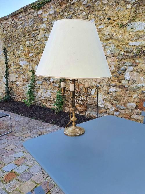 Vends lampe ancienne laiton