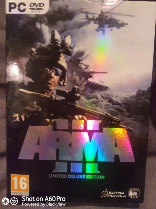 Vends ARMA III limited de luxe