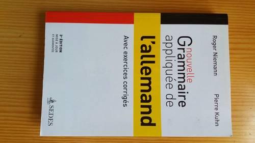 Vends livre de grammaire allemande, très bon état