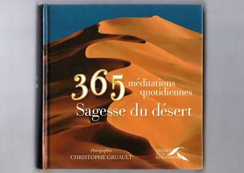 Vends livre 365méditations quotidiennes - Sagesse du désert