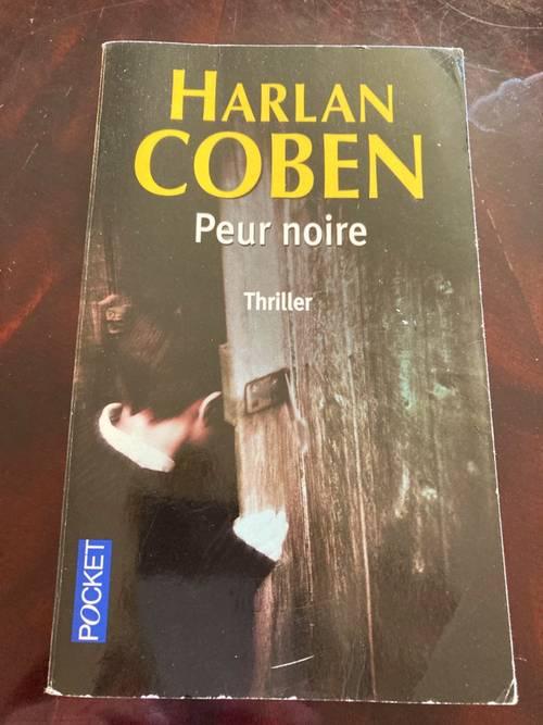 Vends livre «Peur noire» Harlan COBEN