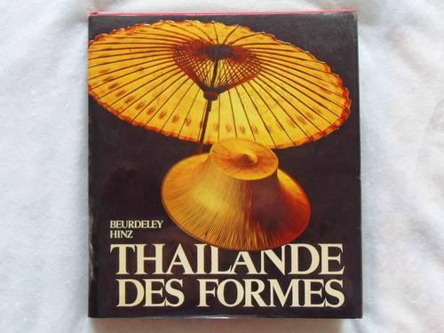 Vends livre Thaïlande des formes