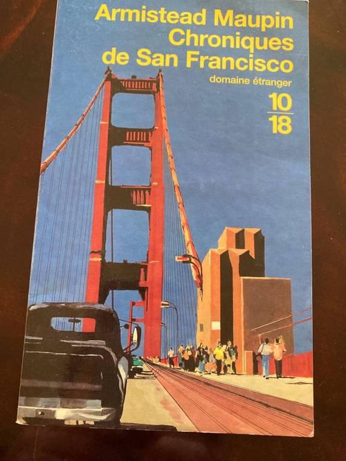 Vends 2livres Chroniques de San Francisco Armistead Maupin