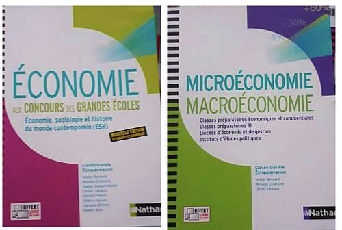 Vends Livres Economie