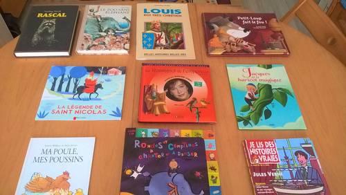 Vends livres pour enfants et livres de jeunesse