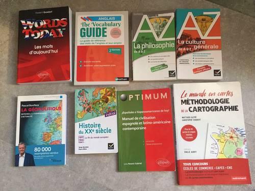 Vends livres prépa ECS bon état