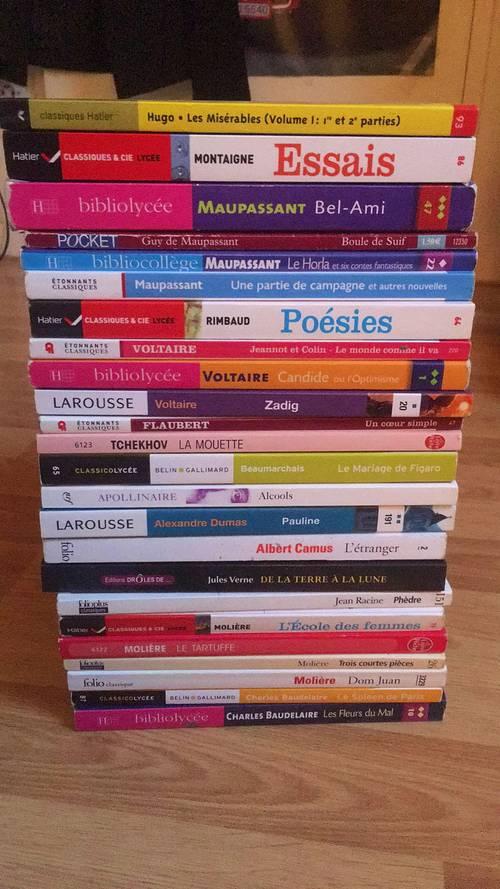 Vends livres scolaires