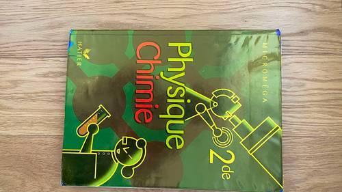 Vends livres scolaires classe de Seconde