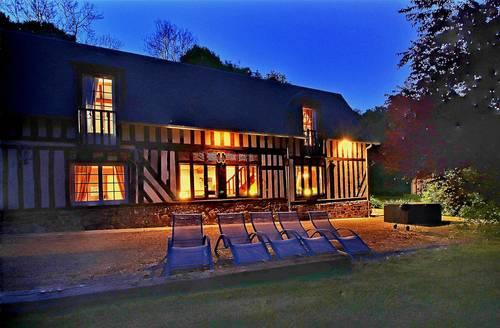 Vends maison d'hôtes 2belles longères 200m² - 5chambres/5salles de bains - 25km Lisieux - Les Champeaux (61)