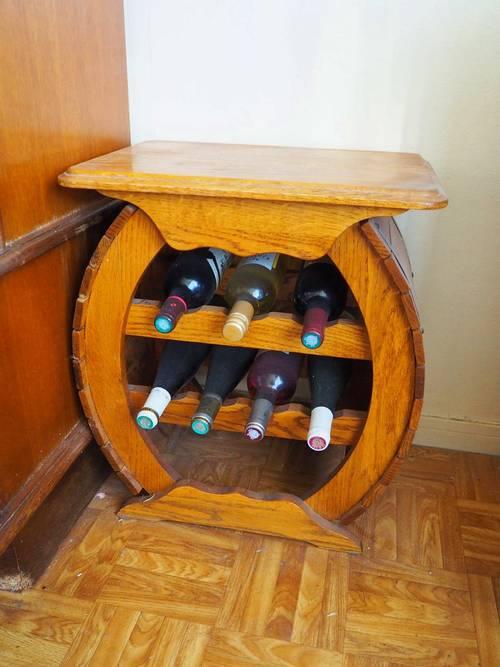 Vends Magnifique casier à vin en bois - Bon état