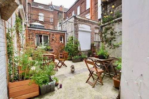 Vends appartement de 60m² en Triplex - Lille (59) Moulins - 1chambre