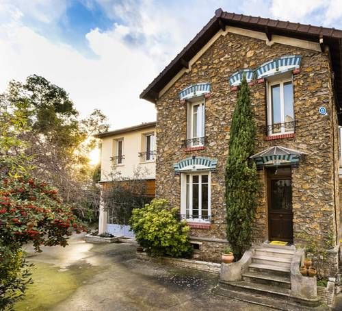 Vends maison meulière - 4chambres, 212m² à Colombes Cerisiers (92)