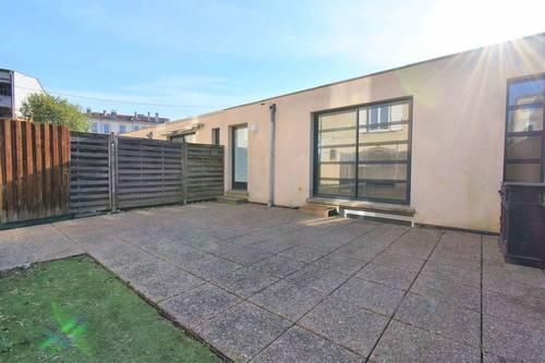Vends maison-loft 100m² Nancy-Centre avec vaste terrasse et garage - 3chambres