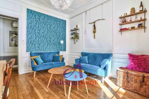 Vends appartement 3pièces - Bois-Colombes (92) - Bécon - 59m² - 2chambres