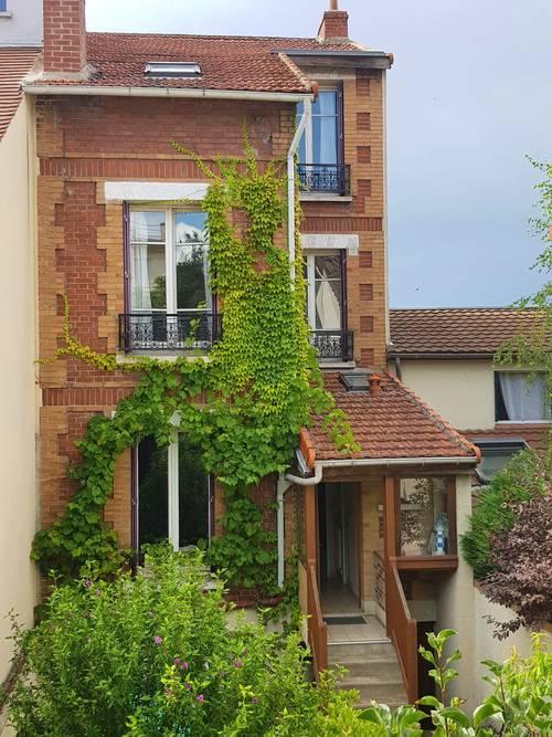 Vends maison + 2pièces, total 6pièces, 100m² , Nanterre (92)