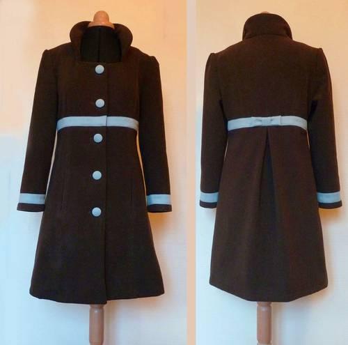 Vends manteau fait main femme taille 38