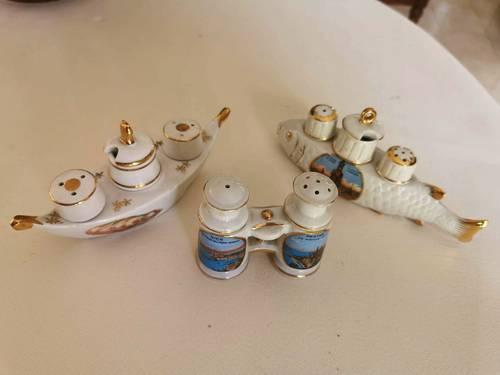 Vends moutardiers anciens en porcelaine
