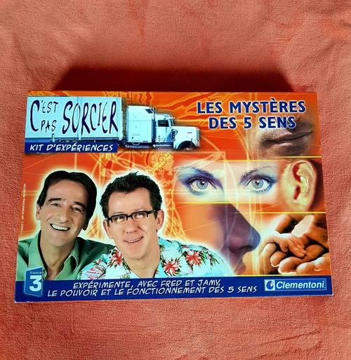 """Vends jeu """"Les mystères des 5sens"""" - c'est pas sorcier"""