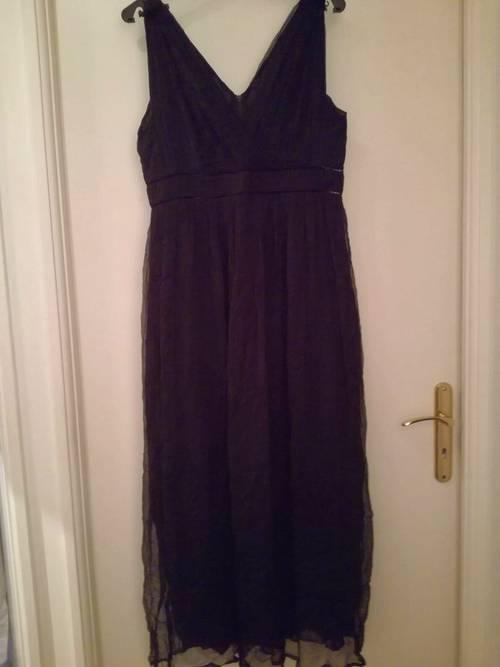 Vends robe du soir noire Caroll 42