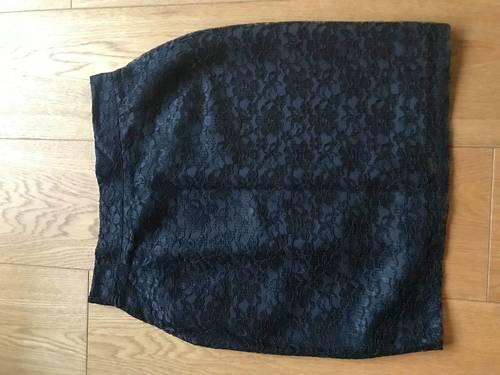 Vends jupe noire en dentelle taille 36jamais portée