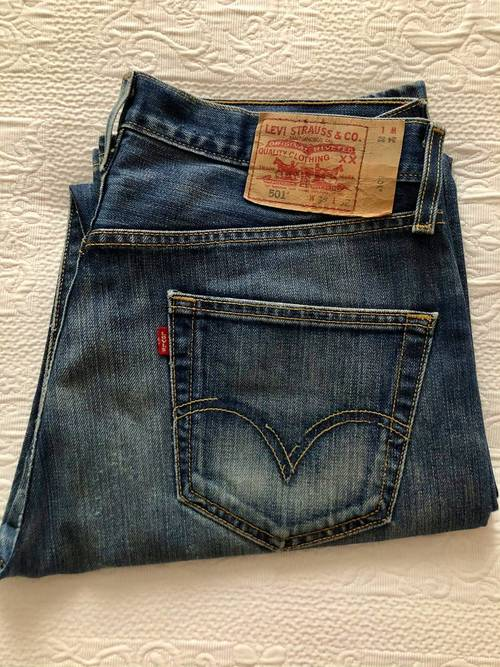 Vends jean Levi's 501original, bleu, W34xL32, taille L