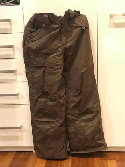 Vends Pantalon de ski Salomon taille L mais plutôt XL