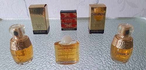 Vends parfums YSL miniatures dont Champagne