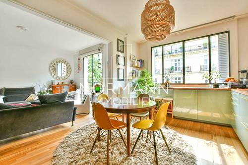Vends Paris 16ème - Mozart- 4pièces - 81m²- 2Chambres- Balcon